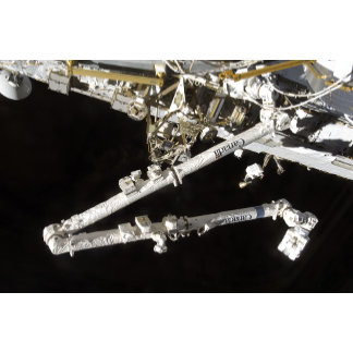 The Canadian-built space station