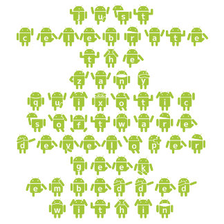 Android Saying Software Developer Robot (Lower)