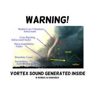 Warning! Vortex Sound Generated Inside (Tornado)
