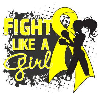 Bladder Cancer Fight Like A Girl Grunge