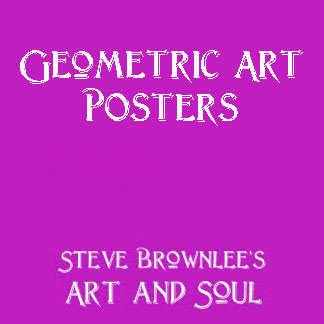 Geometric Art Posters