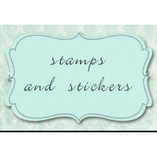 stamps and stickers