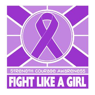 Epilepsy Fight Like A Girl Flag