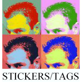 STICKERS / TAGS