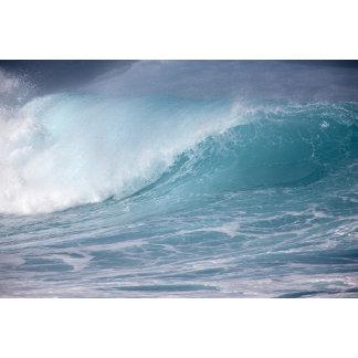 Blue wave crashing, Maui, Hawaii, USA 2