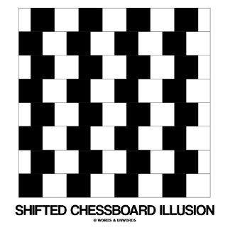 Shifted Chessboard Illusion