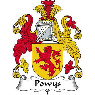 Powys Family Crest