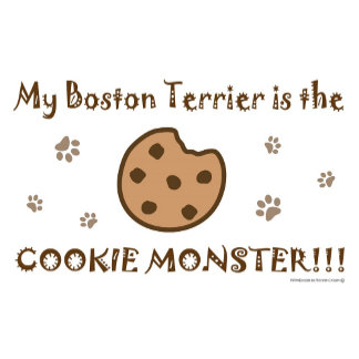 "Cookie Monster - My ""Dog Breed"" is Cookie Monster"