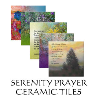Serenity Prayer Ceramic Tiles