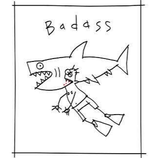 Badass Shark Guy