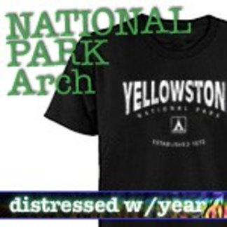 Distressed Arch National Park T-Shirts