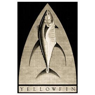 Yellowfin Vintage Black & White
