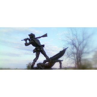 Civil War Statue at Gettysburg, PA