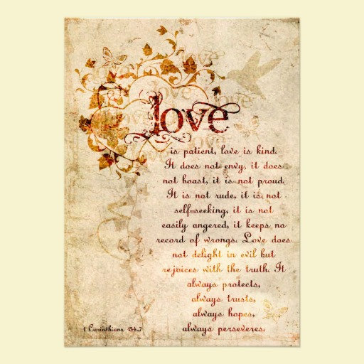 Love Is Corinthians Scripture Series