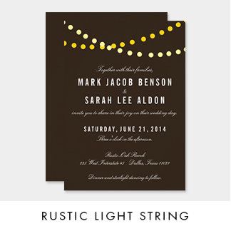 Rustic Light String Collection