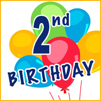 2nd Birthday T-shirts, Gifts and Party Supplies
