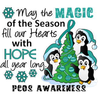 Christmas Penguins PCOS