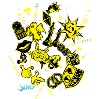 Krush Collage Yellow