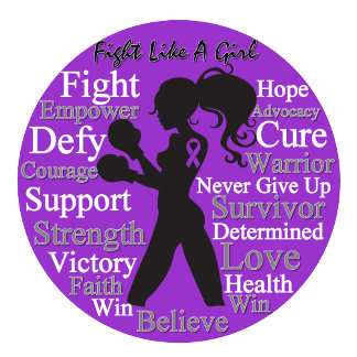 Epilepsy Fight Like A Girl Collage