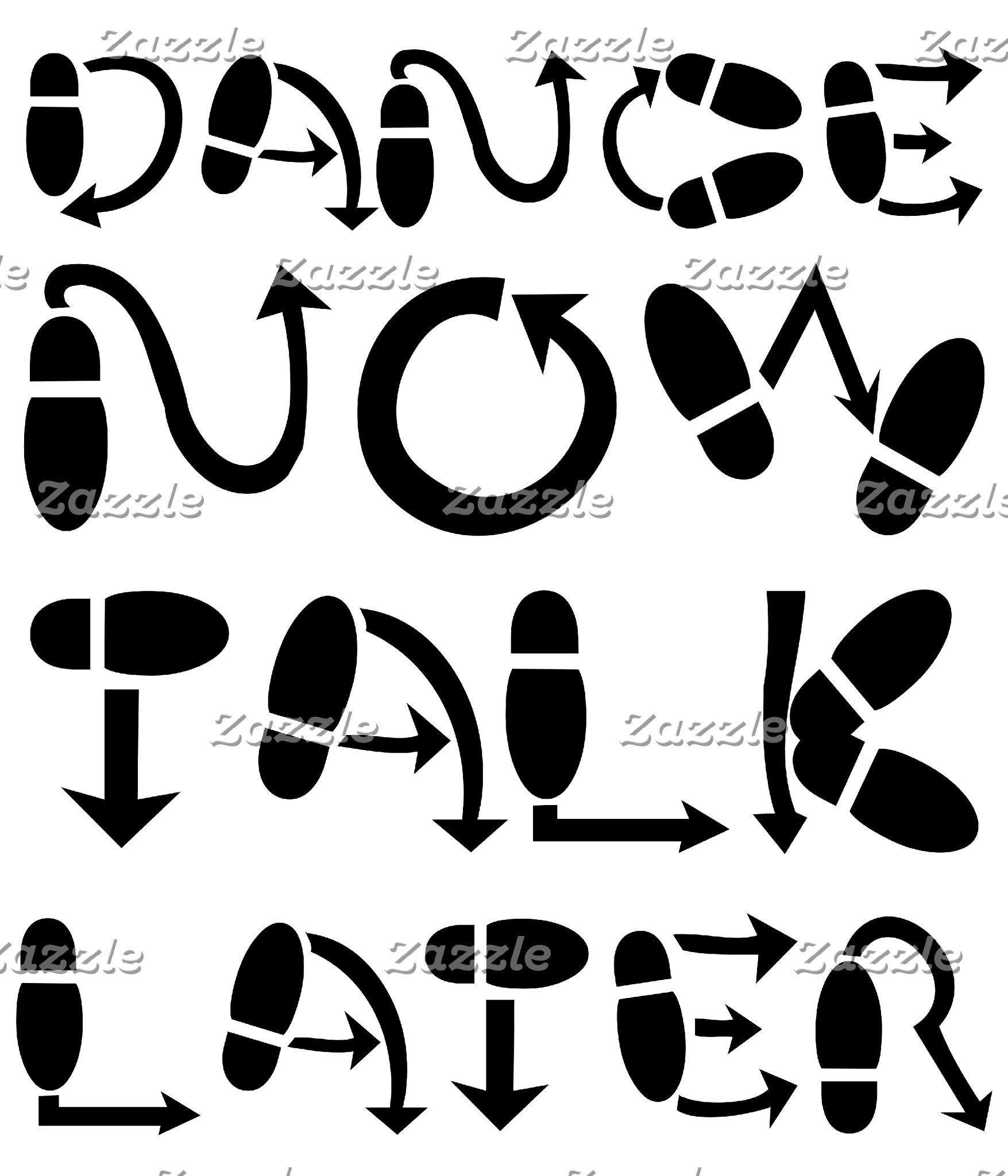 dance now talk later