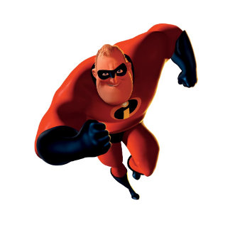 The Incredibles Mr. Incredible running