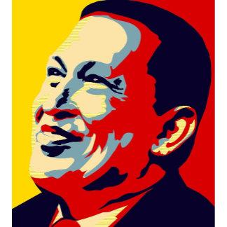 Hugo Chavez - Obama Hope style