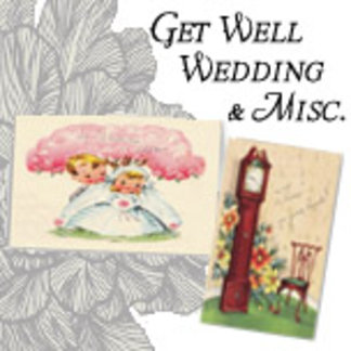 Wedding, Get Well, Misc Cards