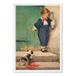 1.22.12 vintage_victorian_boy_puppy_art_print_post