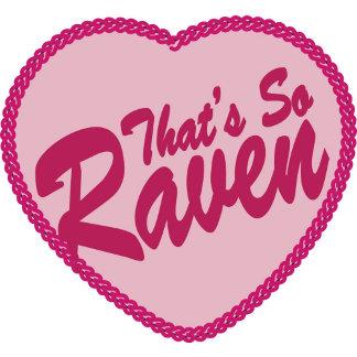 "Raven ""That's So Raven"" Pink Heart"