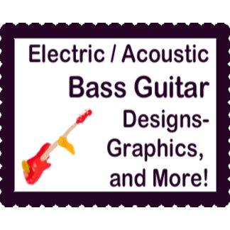 Electric, Acoustic bass guitar designs