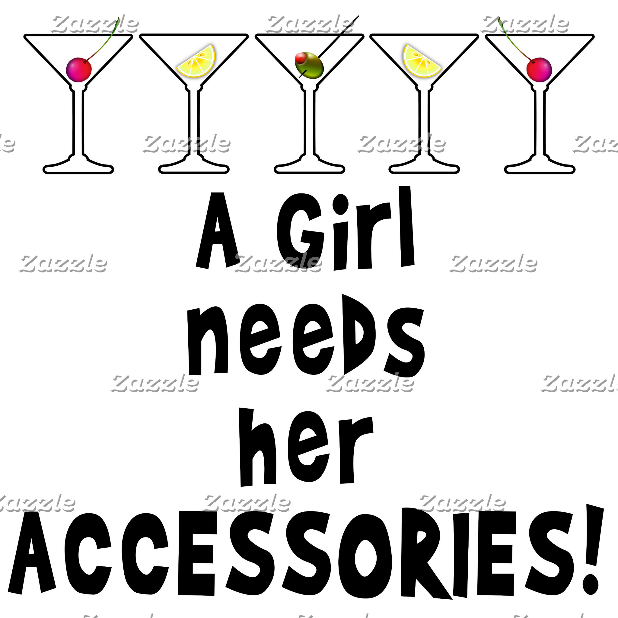 as. COCKTAIL ACCESSORIES