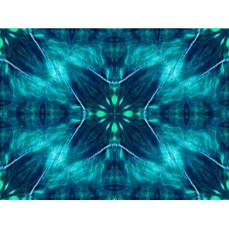 Blue Flower Fractal Design