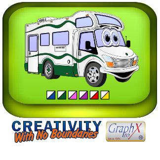 Cartoon Camper Trucks