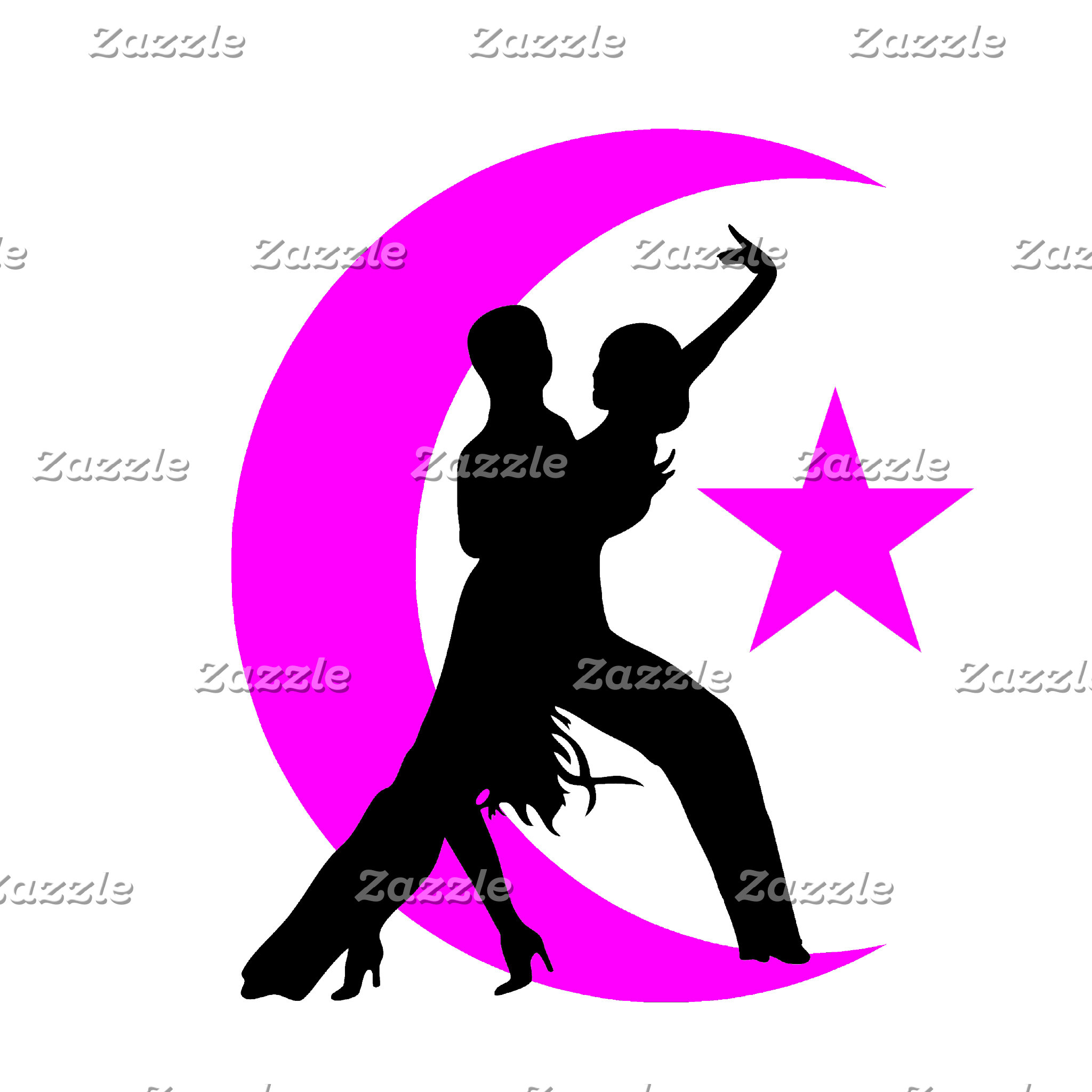 Ballroom moon star 2 pink