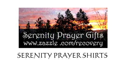 Serenity Prayer Shirts