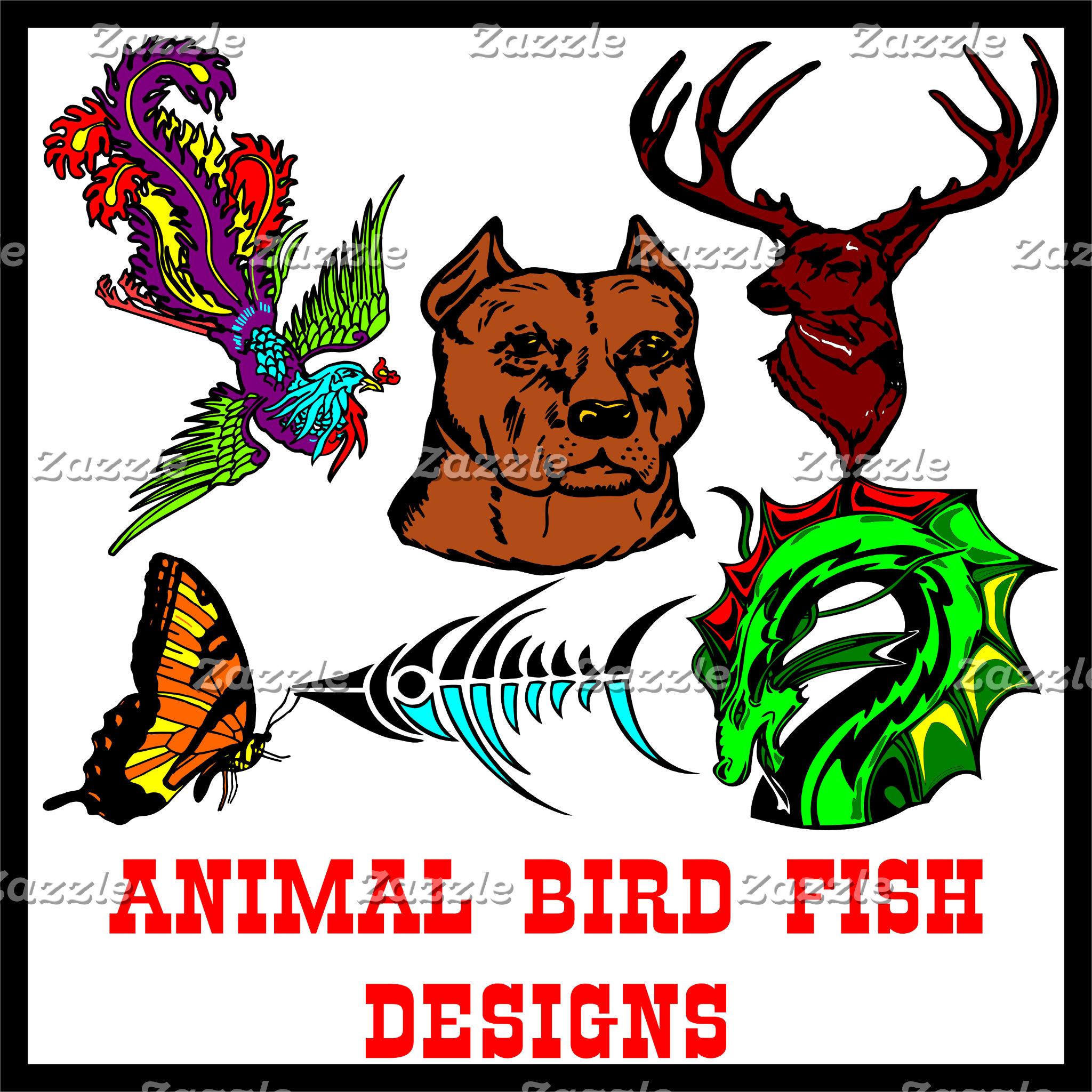 Animal Bird Fish