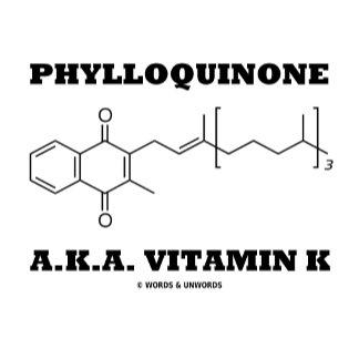 Phylloquinone A.K.A. Vitamin K (Chemical Molecule)