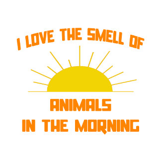 Smell of Animals in the Morning