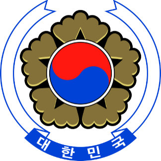 South Korea Coat of Arms detail