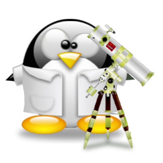 Astronomer Tux