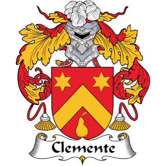 Clemente Family Crest