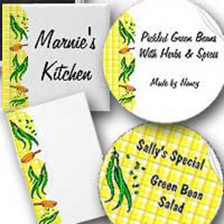 Green Beans and Yellow Plaid Designs
