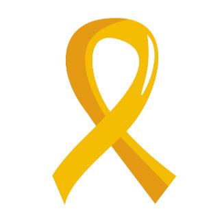 Neuroblastoma Gold Ribbon 3
