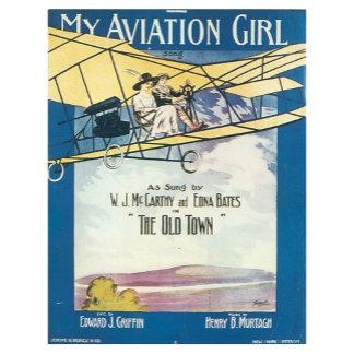 My Aviation Girl - Vintage Song Sheet Music Art