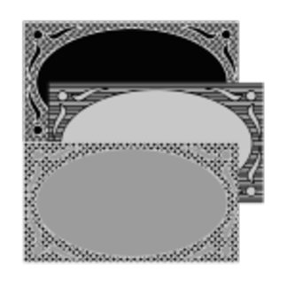 Decorative Oval Frame Collection