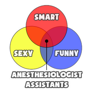 Venn Diagram .. Anesthesiologist Assistants