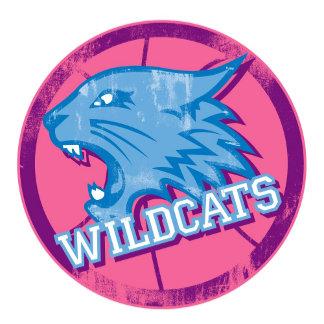 High School Musical Wildcats blue pink logo