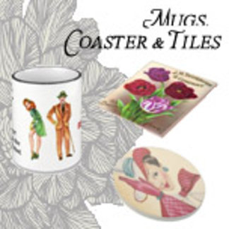 Mugs, Coasters, and Tiles