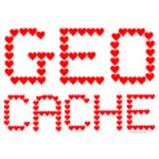 Geocache Heart Text