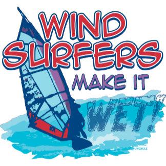 Windsurfers Make It Wet!